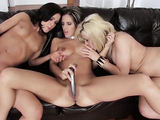 canadian lesbian threesome toys