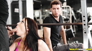 public gym blowjob