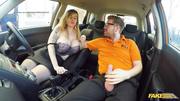 big tits back seat