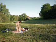 anal, german, outdoor, public