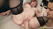 mature red head big