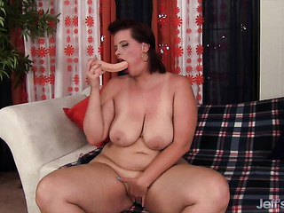 solo action dick-swallowing bbw