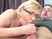 gets, lady, mature, rough sex