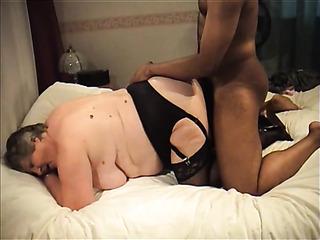 interracial mature stocking fuck