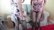lesbian big tits lingerie