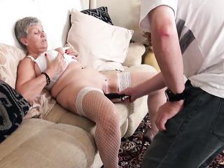 big tits lesbian stocking