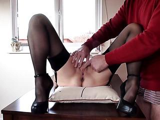 mature feet fuck pussy