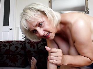 big tits high heel