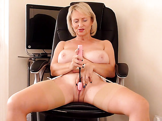 big tits mature stockings