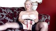 big tits mature lingerie