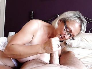 big tits handjob