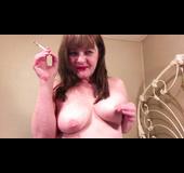 Voluptuous amateur lingerie anal