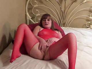 horny tits lingerie striptease
