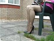 fetish, foot, heel, woman