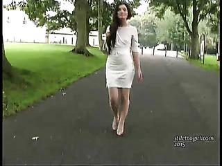 thin beautiful lady