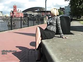 sensual legs high heels