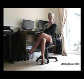 Slim high heels