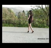 Elegant foot fetish