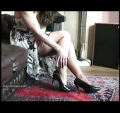 Helpless high heel fetish