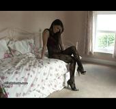 Attractive stocking feet