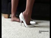 fetish, foot, heel, shoe