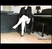 Lucky sexy legs high heels