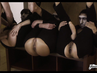 masked gals crotchless bottoms