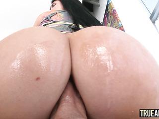 american big tits anal