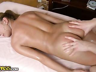 sexy horny girl massage