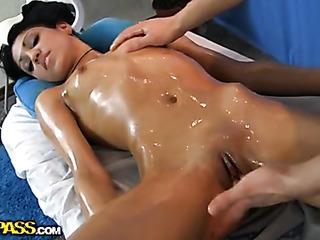 innocent oil massage