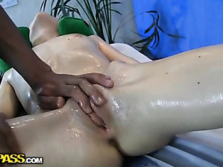 russian sexy babe massage