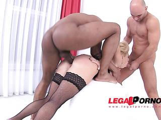 curvy russian blonde anal
