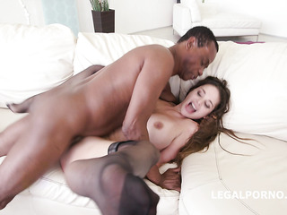 hungarian interracial anal creampie