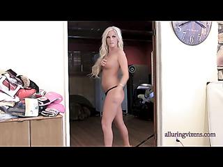 slim blonde perfect tits
