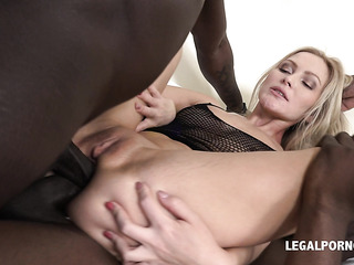 cheating milf first double