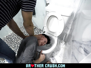 gay toilet abuse
