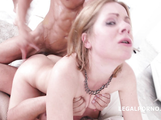 blonde mom gangbang