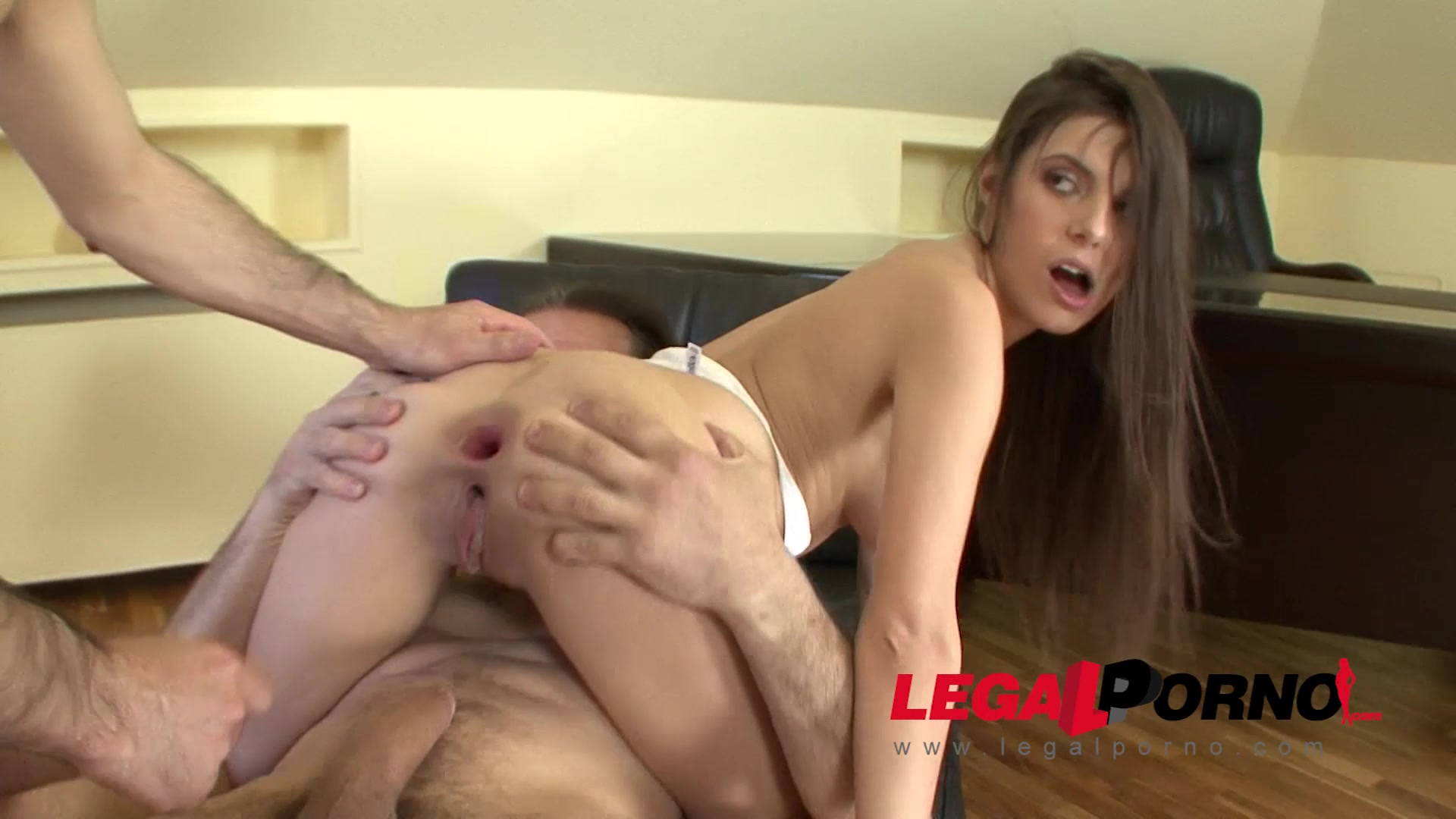 18 Year Porn Xxx 18 year old painful double anal - youx.xxx