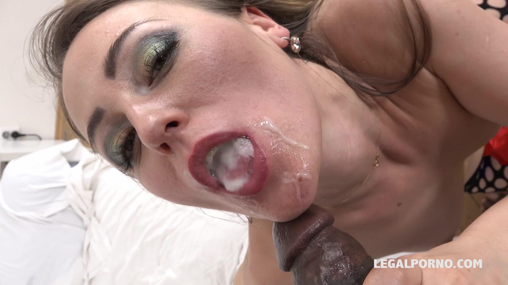 Pulsating Cock Cum Mouth