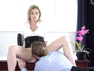 perfect mature office girl