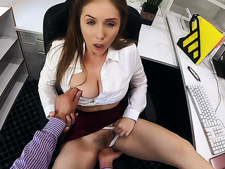 dirty office girl's pov