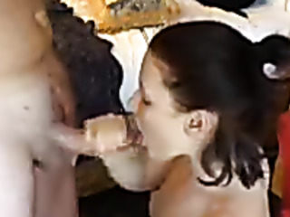 first time cum swallowing