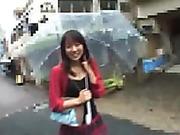 asian, japanese, public, skirt