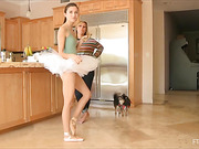 dancing scenes, small tits, teen, toys
