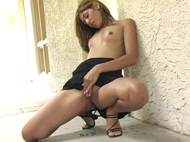 French Teen Solo Squirt