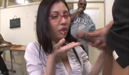 Hot Teacher Sucking Dick
