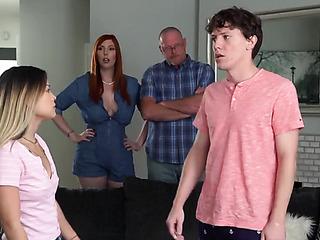 Dad porn mom Mom threesome,
