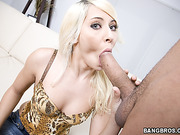 big cocks, black, throat, white