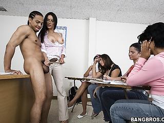Hot naked girl math teachers