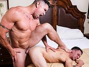 ass, bedroom, gay